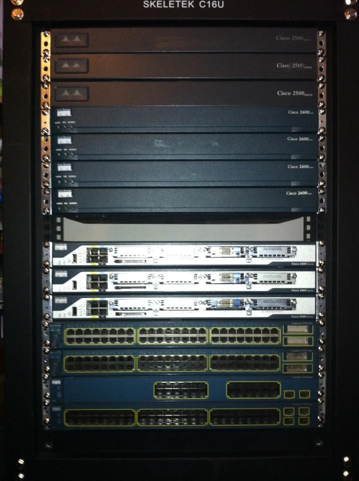CCIE R&S v4 Home Lab | NetworkJutsu | Network Security