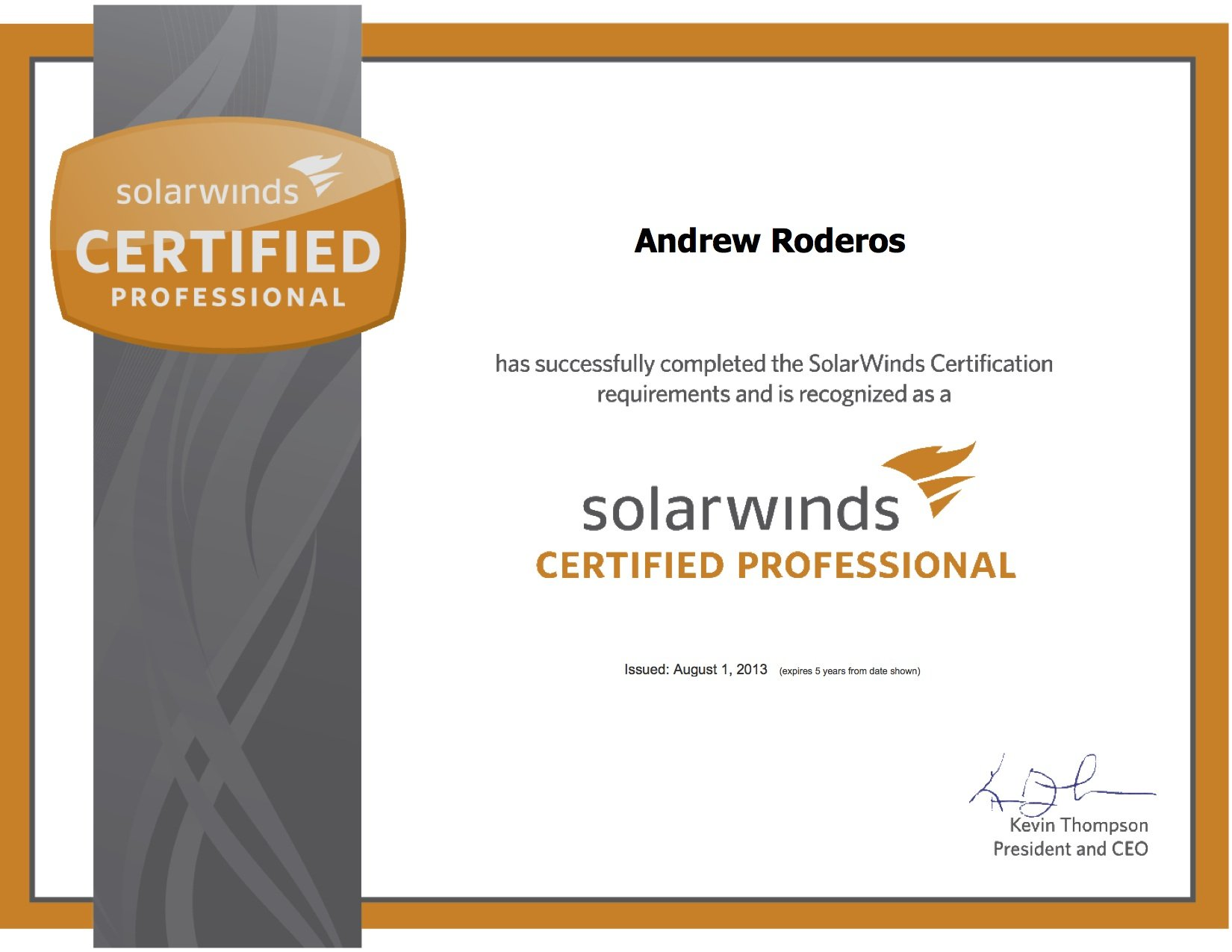 Solarwinds certified professional network jutsu scp xflitez Image collections