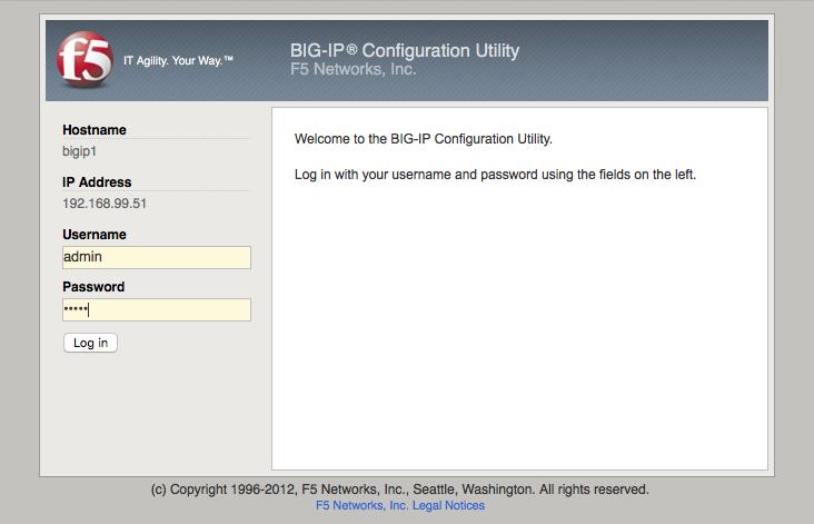 F5 BIG-IP LTM VE Initial Configuration | NetworkJutsu